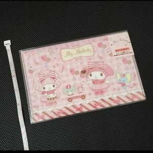 MY MELODY PLASTIC ENVELOPE--GREAT FOR FACE MASK